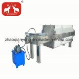 Los residuos de acero inoxidable Filtro de aceite de máquina de prensa