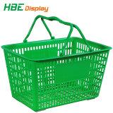Supermercado de plástico de Retalho lado cesto de compras para mini-recordações
