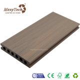 Decking extérieur composé en plastique en bois imperméable à l'eau de WPC