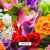 Films hydrauliques de la fleur cubique très vive 3D pour les postes et la consommation quotidienne extérieurs (BDA127F)