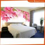 Картина маслом/обои самомоднейшего декора цветка лилии искусствоа стены изготовленный на заказ для декоративной дома нутряная