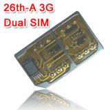 Magicsim 26th-Corte um cartão SIM Duplo 3G