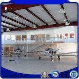 Hangar de acero pre dirigido de los aviones de los edificios de acero con alta calidad