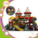 Verkaufs-Kunststoff-Spielplatz-grosse Unterhaltungs-im Freienkind-Plättchen-Gerät