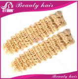 3PCS 7A Extensão do cabelo do Virgin da Malásia 613 Cabelo de cabelo encaracolado louco e encaracolado rir do cabelo do cabelo do rir
