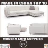 Sofà moderno della piuma del cuoio del salone di stile italiano domestico della mobilia