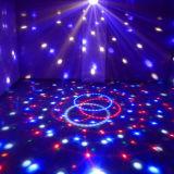 LED 마술 공 빛 또는 소리 통제 LED 수정같은 마술 빛
