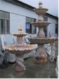 Style simple, sculpture en marbre Fontaine de jardin