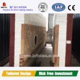 Montado Horno DE Tunel PARAGRAAF Quemar Ladrillos Video