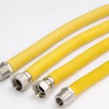Mangueira flexível ondulada do PVC de Hlt13-27 1.5inch