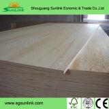 A película da madeira compensada da construção do núcleo do vidoeiro/Poplar enfrentou a madeira compensada para o concreto (HBP002)
