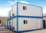 20-футовый модульный сегменте панельного домостроения/Mobile плоские Pack контейнер для общежития