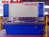 Freno hidráulico de la prensa de la placa de acero de la serie de WC67Y