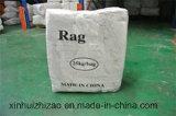 Qualitäts-weiße Baumwolle, die Rags abwischt