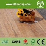 Strandwoven aserró el suelo de bambú de la marca carbonizado