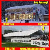 China Proveedor del techo de PVC blanco Double Decker Carpa Carpa de exposición de coches