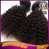 Couleur Noir naturel Curly Virgin Remy Hair Extension de l'homme brésilien