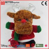 Het Gevulde Rendier van de Pluche van Kerstmis van het nieuwjaar Stuk speelgoed