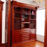 Во всплывающем окне Отобразить европейского индивидуальные мебель деревянная винный шкаф/стойке (YH-WC2003)
