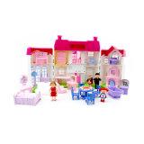 Девочек притворяться счастливой семьей кукла играть дома игрушки с мебель (10307928)