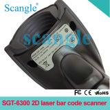 Hoge snelheid tweede/de Lezer van de Streepjescode van de Scanner van de Streepjescode van de Laser Qr