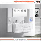 Banho de MDF Branco Brilhante vaidade TM8142b