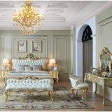 Деревянные кровати с помощью опциональных цветов для спальни мебель (318)