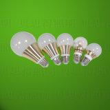 Aluminio Die-Casting de oro de la luz de lámpara LED 9W