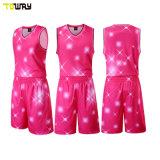 Dri Fit Cheap Youth Pink Basketball Uniforms