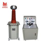 AC DC imersos em óleo do transformador de testes de alta freqüência