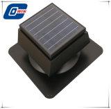 太陽天井に付いている扇風機、15watt太陽電池パネルとの太陽ファン換気