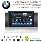Vshauto Eight-Core Android Market 8.1 aluguer de DVD para a BMW E39 X5 M5 E53 1996 2007