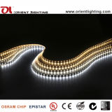 Os LEDs epistar 2835 60Max14.4W Non-Waterproof tira de lâmpadas LED