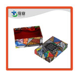 El patrón de flor de calcetines personalizados de cartón de embalaje Caja de colores