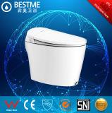 110V~230V het zuivere Witte Intelligente Toilet van de Bescherming van de Kleur 3ways (BC-833)