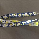 Ultrasonidos de alta densidad personalizados cinta tejida etiqueta tejida Tags