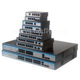 4 puertos 10/100M Conmutador Ethernet Poe Sc20km.