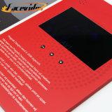 Facevideo Express Brochura Vídeo Musical Mailer cartões de negócios