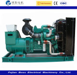 FAW 엔진 디젤 엔진 발전기 세트 디젤 Genset에 의해 강화되는 60Hz 270kw 338kVA Water-Cooling 침묵하는 방음
