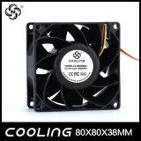 80mm Axial Flow 80x80x25mm DC pour inverseur de ventilateur