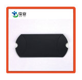 Пользовательский документ черного цвета подушки коробки для подарочной упаковки
