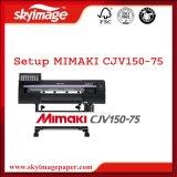 Het broodje-aan-Broodje van de Hoge snelheid van Mimaki Cjv150-75 Oplosbare Printer/Snijder