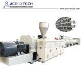 En plastique PVC à double vis du tuyau de l'Extrusion de production de l'extrudeuse Making Machine