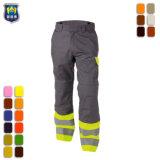 Высокая видимость светоотражающей лентой хлопка стильные брюки груза