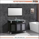 Ausgeglichenes Glas-Oberseite-Badezimmer-Schrank T9148-24e