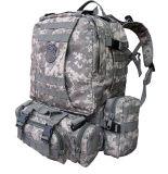 カムフラージュの屋外の戦術的な軍のバックパックの軍隊袋