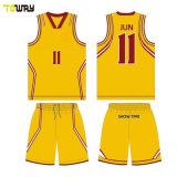 Abbigliamento Sportivo Buona Qualità Miglior Vendita Sport Wear Stripe Maglia Da Basket Personalizzata Per Club