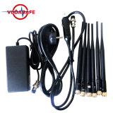 Al Stoorzender van het Signaal van de Telefoon van de Cel 3G 4G en GPS WiFi Lojack Stoorzender, 3G 4G de Frequentie van de Selectie van de Telefoon en van de Stoorzender Lojack van de Cel
