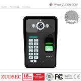 Superfingerabdruck-videowechselsprechanlage-Tür-Telefon für Landhaus