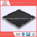 Ячеистой алюминиевой Core лист для лазерной резки таблица